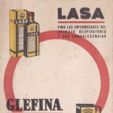 Coleccionismo Papel secante: PAPEL SECANTE GLEFINA LASA VER FOTO ADICIONAL. Lote 166806158