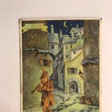 Coleccionismo Papel secante: PELIKAN PAPEL SECANTE. POSTAL EL FLAUTISTA DE HAMELIN NO. 634. Lote 170466613