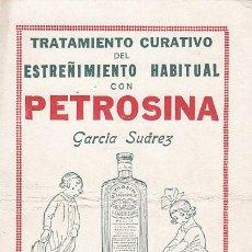 Colecionismo Mata-borrão: SECANTE PETROSINA. GARCIA SUAREZ. Lote 171410243
