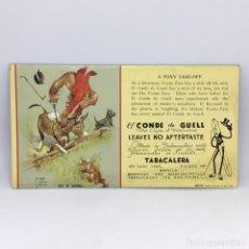 Collezionismo Carta assorbente: PAPEL SECANTE A FOXY TAKE-OFF - EL CONDE DE GUELL - TABACALERA - Nº 36310. Lote 172281253