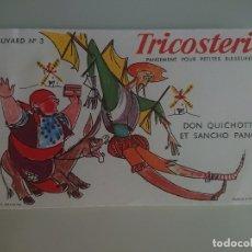 Coleccionismo Papel secante: ANTIGUO PAPEL SECANTE TRICOSTERIL , LEER DESCIPCION. Lote 195692578