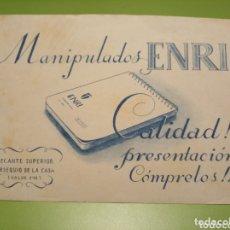 Coleccionismo Papel secante: PAPEL SECANTE. Lote 174045293