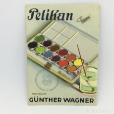 Coleccionismo Papel secante: PAPEL SECANTE PELIKAN GÜNTHER WAGNER . Lote 174241550