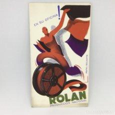 Coleccionismo Papel secante: PAPEL SECANTE ROLAN - PRODUCCION NACIONAL - EN SU OFICINA!. Lote 174241707