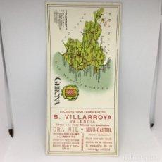 Coleccionismo Papel secante: PAPEL SECANTE GERONA - S. VILLARROYA - VALENCIA . Lote 174242145