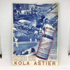 Coleccionismo Papel secante: PAPEL SECANTE KOLA ASTIER - MEDICINA . Lote 174242334