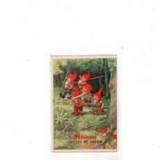 Collectionnisme Papier buvard: PAPEL SECANTE. PELIKAN. LAPICES DE COLOR.. Lote 175180950
