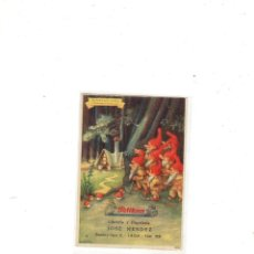 Collectionnisme Papier buvard: PAPEL SECANTE. PELIKAN. BLANCANIEVES. . LIBRERIA Y PAPELERIA JOSE MENDEZ, LEON. . Lote 175181232