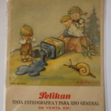Coleccionismo Papel secante: PAPEL SECANTE PELIKAN NUEVO LIBRERIA VALLHONRAT TARRAGONA. Lote 178286223