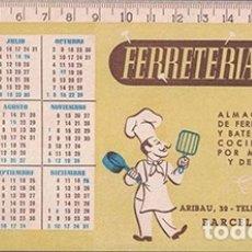 Coleccionismo Papel secante: PAPEL SECANTE PUBLICIDAD FERRETERIA ESTEVE, BARCELONA. TAMAÑO: 22 X 10CM. PASECA-248,2. Lote 178943871