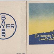 Coleccionismo Papel secante: LOTE B PUBLICIDAD BAYER AÑOS 40 VIÑETAS COMICAS. Lote 184532540