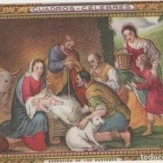Coleccionismo Papel secante: LOTE F PUBLICIDAD TIPO CROMO MUY ANTIGUA. Lote 184535651