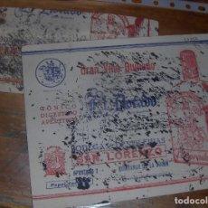 Coleccionismo Papel secante: BODEGAS SAN LORENZO, MATEO MORENO MOLINA. VINO QUINADO EL DORADO. QUINTANAR DE LA ORDEN.. Lote 21359209