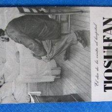 Coleccionismo Papel secante: PAPEL SECANTE TIOSULFAN, TUBERCULOSIS. PRODUCTO ROBERT. EL DÍA DE LA VISITA AL HOSPITAL. S/F.. Lote 186876345