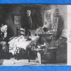 Coleccionismo Papel secante: PAPEL SECANTE TIOSULFAN, TUBERCULOSIS. PRODUCTO ROBERT. ILUSTRACIÓN; EL DOCTOR. S/F.. Lote 186878697