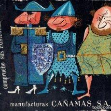 Coleccionismo Papel secante: PAPEL SECANTE CON PUBLICIDAD. Lote 191337166