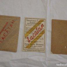 Coleccionismo Papel secante: SINAPISMOS LACATAN.. Lote 191957642