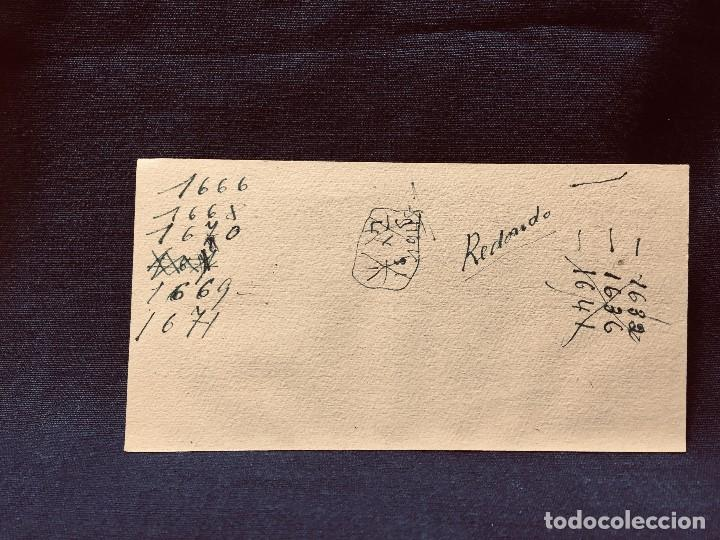 Coleccionismo Papel secante: PAPEL SECANTE HAGA SUS COMPRAS EN LIBRERIA TRUQUE BOLSA 6 MADRID 8,5X16CMS - Foto 2 - 192175202
