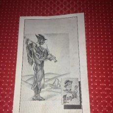 Collectionnisme Papier buvard: PAPEL SECANTE - AÑOS 30/40 - BAMBÚ - PAPEL DE FUMAR - ALCOY. Lote 192505982