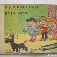 Collectionnisme Papier buvard: SECANTE CONTI PUBLICIDAD SYNKOLIKOL. Lote 193853111