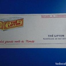 Coleccionismo Papel secante: SECANTE THE LIPTON. Lote 193853938