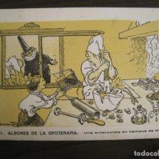 Coleccionismo Papel secante: ALBORES DE LA OPOTERAPIA-PAPEL SECANTE CON PUBLICIDAD-VER FOTOS-(V-19.068). Lote 194339625