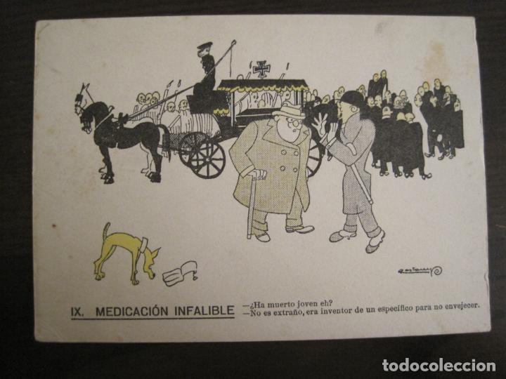 Coleccionismo Papel secante: MEDICACION INFALIBLE-DIBUJO DE CASTANYS-PAPEL SECANTE CON PUBLICIDAD-VER FOTOS-(V-19.069) - Foto 2 - 194339813