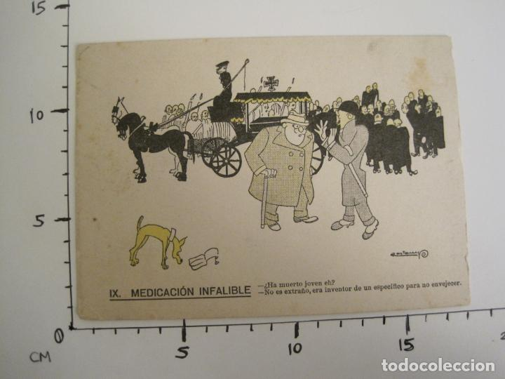 Coleccionismo Papel secante: MEDICACION INFALIBLE-DIBUJO DE CASTANYS-PAPEL SECANTE CON PUBLICIDAD-VER FOTOS-(V-19.069) - Foto 5 - 194339813