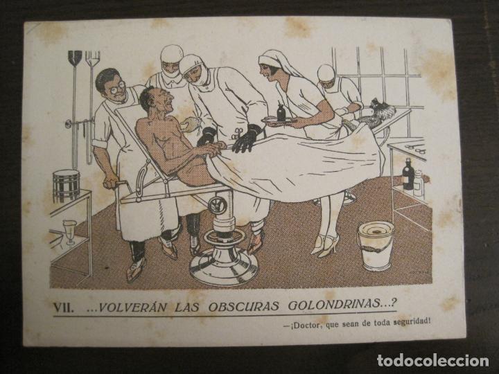 Coleccionismo Papel secante: VOLVERAN LAS OSCURAS GOLONDRINAS?-DOCTORES-PAPEL SECANTE CON PUBLICIDAD-VER FOTOS-(V-19.070) - Foto 2 - 194340226