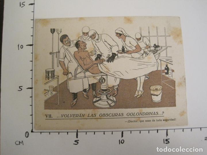 Coleccionismo Papel secante: VOLVERAN LAS OSCURAS GOLONDRINAS?-DOCTORES-PAPEL SECANTE CON PUBLICIDAD-VER FOTOS-(V-19.070) - Foto 5 - 194340226