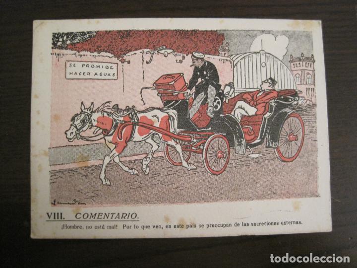Coleccionismo Papel secante: VIII COMENTARIO-DIBUJO DE JUNCEDA-PAPEL SECANTE CON PUBLICIDAD-VER FOTOS-(V-19.071) - Foto 2 - 194340486