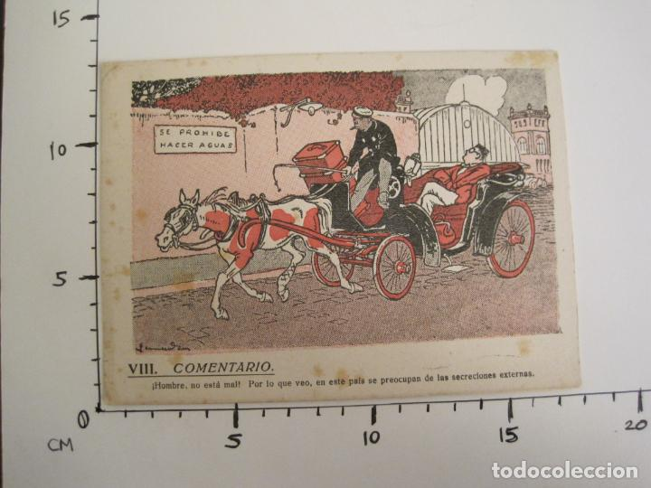 Coleccionismo Papel secante: VIII COMENTARIO-DIBUJO DE JUNCEDA-PAPEL SECANTE CON PUBLICIDAD-VER FOTOS-(V-19.071) - Foto 5 - 194340486