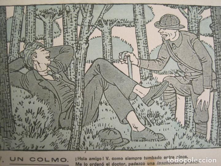 Coleccionismo Papel secante: UN COLMO-OPOTERAPICOS LOPEZ BREA-DIBUJO DE APA-PAPEL SECANTE CON PUBLICIDAD-VER FOTOS-(V-19.074) - Foto 2 - 194341083