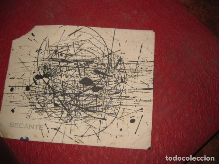 Coleccionismo Papel secante: bonito papel secante banco popular español , con mototipo vespa . usado - Foto 2 - 194689780