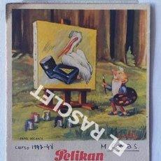 Collezionismo Carta assorbente: ANTIGÚO PAPEL SECANTE PUBLICIDAD PELIKAN DEL AÑO 1947 - 1948. Lote 198722463