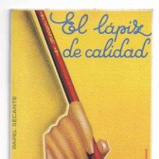 Coleccionismo Papel secante: LÁPIZ ROLAN - ILUSTRADOR MORELL - 8,4 X 15 CM. - P30681. Lote 199423538