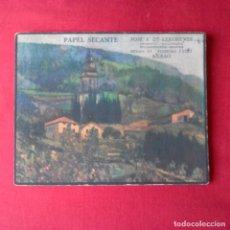 Coleccionismo Papel secante: PAPEL SECANTE JOSE A. DE LERCHUNDI BILBAO. AÑOS 50. Lote 200239846