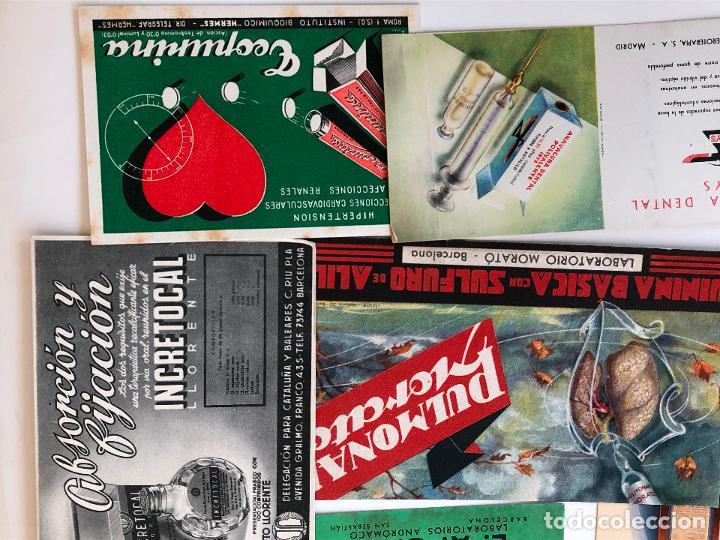 Coleccionismo Papel secante: LOTE DE 22 PAPELES SECANTES DE DIFERENTES TAMAÑOS. VER FOTOS. - Foto 2 - 200276230