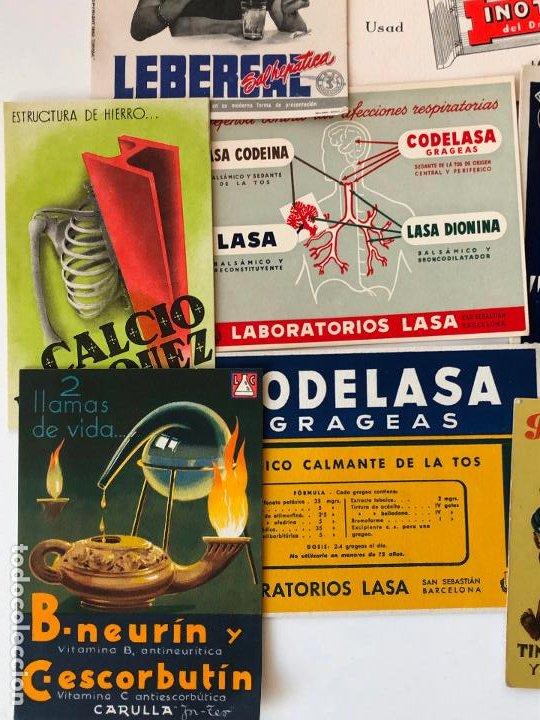 Coleccionismo Papel secante: LOTE DE 24 PAPELES SECANTES, PELIKAN Y OTROS, ETC. VER FOTOS. - Foto 2 - 200278041