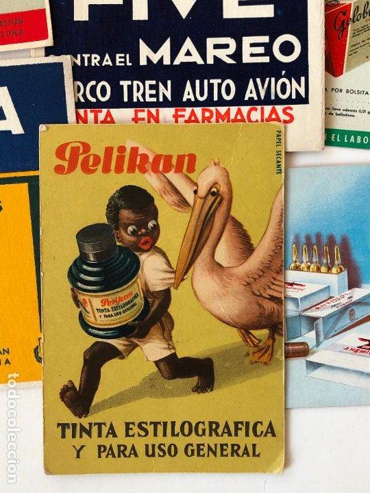 Coleccionismo Papel secante: LOTE DE 24 PAPELES SECANTES, PELIKAN Y OTROS, ETC. VER FOTOS. - Foto 3 - 200278041