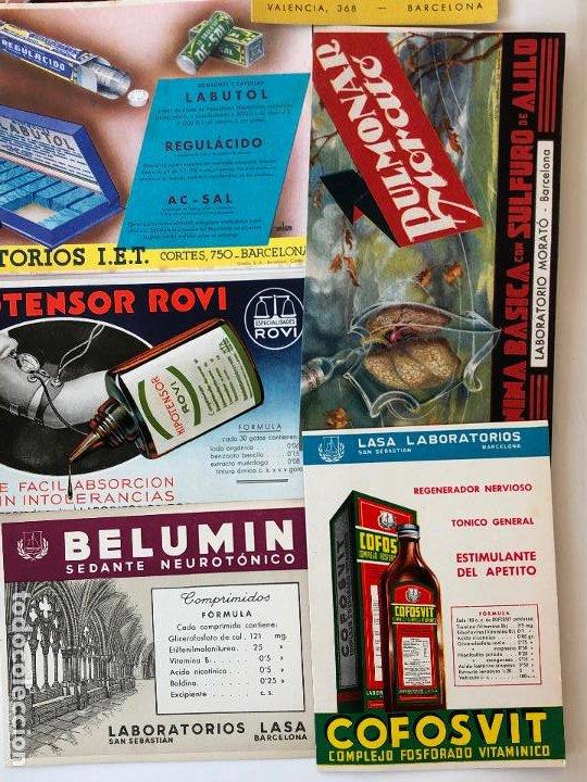 Coleccionismo Papel secante: LOTE DE 24 PAPELES SECANTES, PELIKAN Y OTROS, ETC. VER FOTOS. - Foto 5 - 200278041