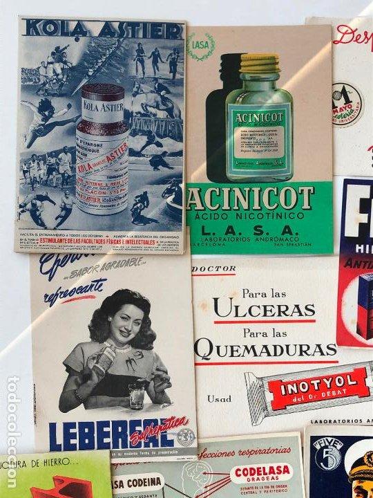 Coleccionismo Papel secante: LOTE DE 24 PAPELES SECANTES, PELIKAN Y OTROS, ETC. VER FOTOS. - Foto 8 - 200278041