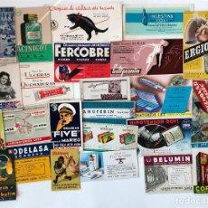 Coleccionismo Papel secante: LOTE DE 24 PAPELES SECANTES, PELIKAN Y OTROS, ETC. VER FOTOS.. Lote 200278041