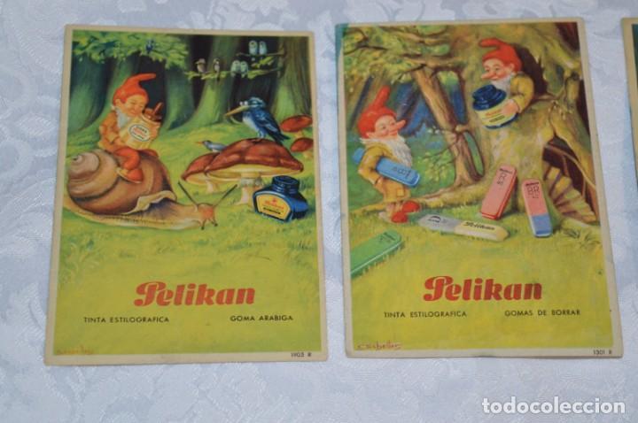 Coleccionismo Papel secante: Antiguos / Vintage - 6 SECANTES / Pelikan, Ebro y Watermans - ¡Mira fotos y detalles! - Foto 2 - 202763663