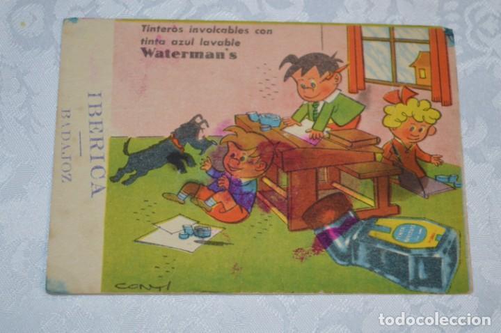Coleccionismo Papel secante: Antiguos / Vintage - 6 SECANTES / Pelikan, Ebro y Watermans - ¡Mira fotos y detalles! - Foto 4 - 202763663
