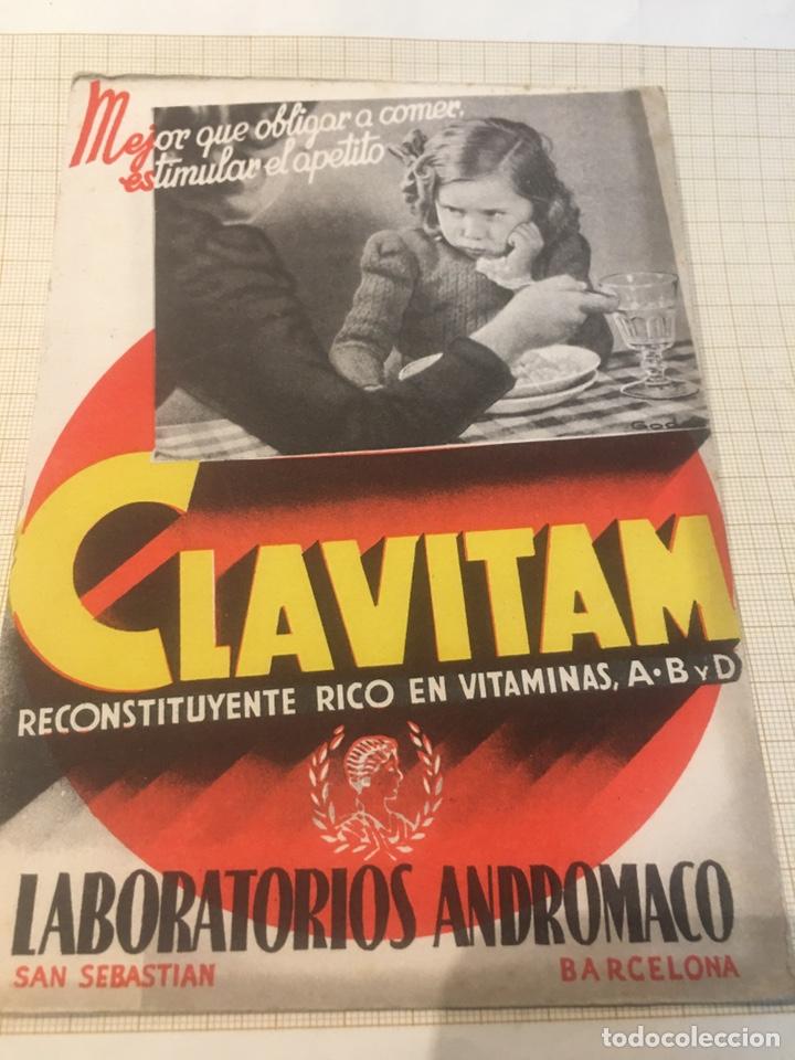 Coleccionismo Papel secante: 2 Antiguos papeles secantes publicitarios - Foto 2 - 204190838