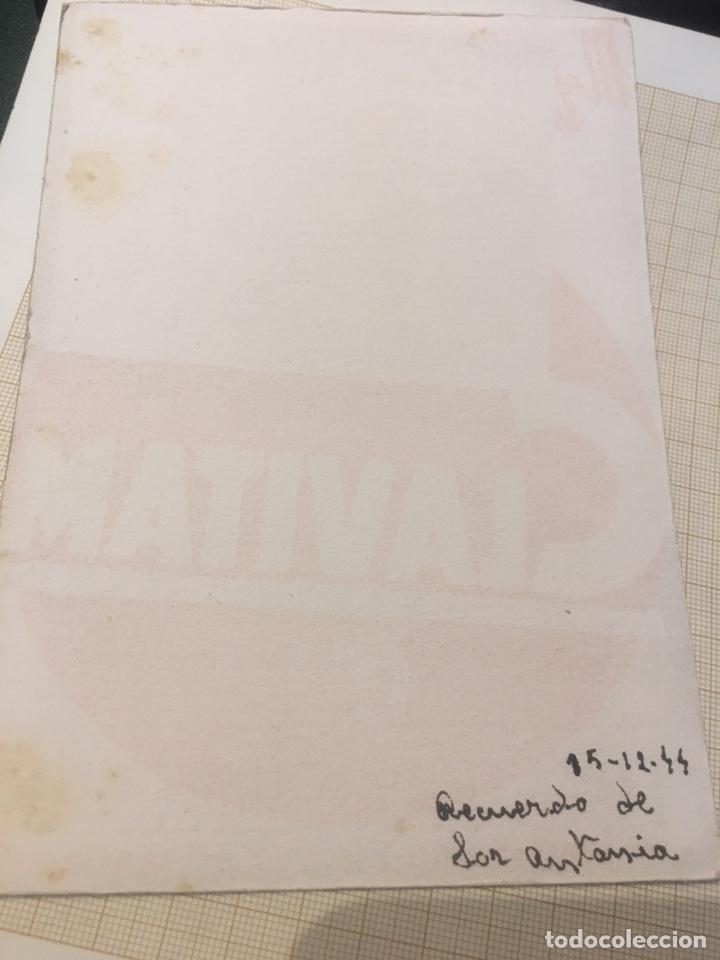 Coleccionismo Papel secante: 2 Antiguos papeles secantes publicitarios - Foto 3 - 204190838