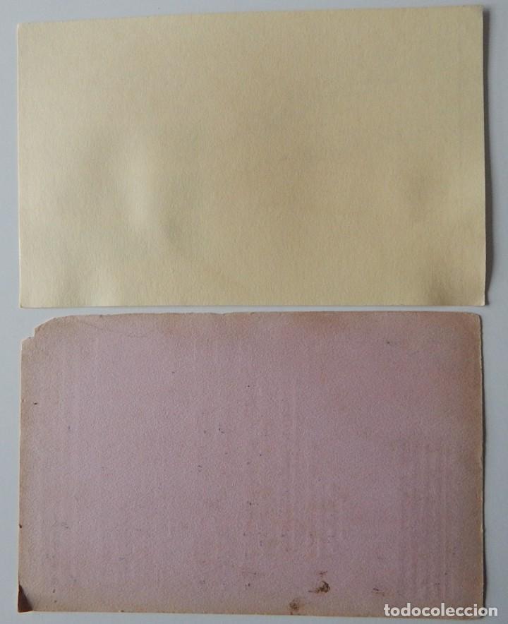 Coleccionismo Papel secante: 15 Secantes antiguos (14 franceses y 1 español - Tema: alimentación - Thé Lipton - Liebig - Chocolat - Foto 5 - 205246468