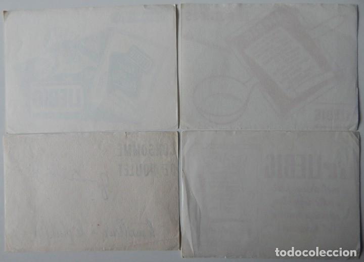 Coleccionismo Papel secante: 15 Secantes antiguos (14 franceses y 1 español - Tema: alimentación - Thé Lipton - Liebig - Chocolat - Foto 9 - 205246468