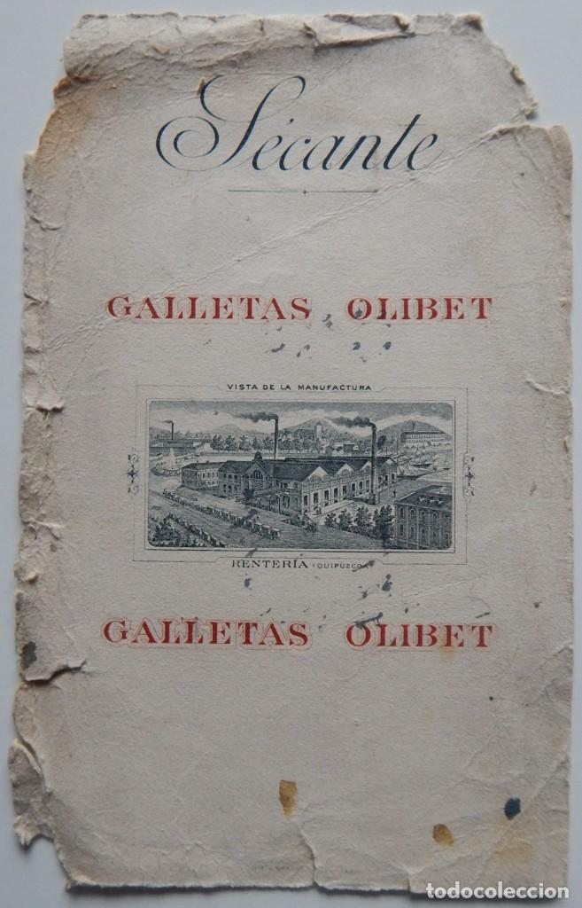 Coleccionismo Papel secante: 15 Secantes antiguos (14 franceses y 1 español - Tema: alimentación - Thé Lipton - Liebig - Chocolat - Foto 12 - 205246468